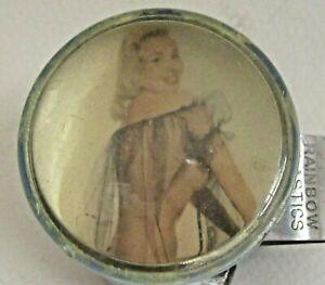 older vintage PIN-UP GIRL Rainbow Plastics steering wheel suicide knob RAT ROD *
