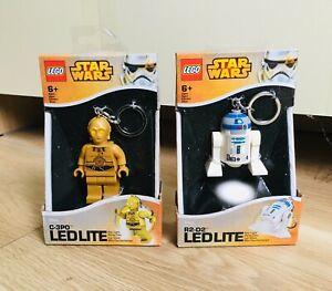 LEGO - Star Wars R2-D2&C-3PO LEDLITE KEYCHAIN TORCHES