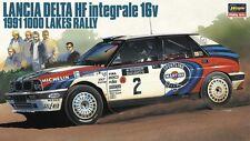 1:24 Lancia Delta Hf Intergrale 16 V' 1991 1000 Lagos Rally' ~ Hasegawa