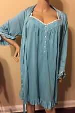 Eileen west nightgown robe Set Large Robe Large / Xlarge