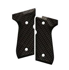 Custom Beretta 92 96 M9 Grips Ambidextrous Carbon Fiber
