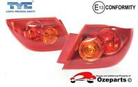 Set Pair LH+RH Tail Light Lamp For Mazda 3 BK Series 1 Hatch Neo Maxx 2003~2006