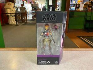 """Star Wars Black Series 6"""" Inch Figure NIP Sealed - Purple Box Rebels SABINE WREN"""
