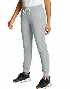 Champion Women Sweatpants Joggers French Terry Pockets Relaxed Low-Profile Draw