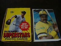 1980 Topps Super Baseball---Complete Set---1-60---Grey Backs---With Original Box