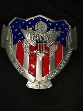 U.S. Army belt buckle come get some red white blue buckle great American USA