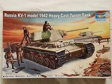 Trumpeter 00359 Russia KV-1 model 1942 Heavy Cast Turret 1:35 Neu und eingetütet