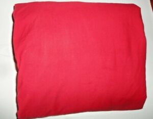 """VINTAGE RALPH LAUREN RED POLO (1) KING FITTED SHEET 16"""""""