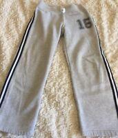 Carters Boys Gray Navy Blue Side Stripe 16 Sweatpants 7