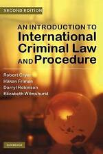 An Introduction to International Criminal Law and Procedure, Wilmshurst, Elizabe
