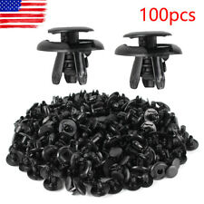 100Pcs Fender Liner Fastener Rivet Push Clips Retainer For Toyota Camry Corolla