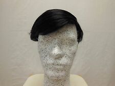 Mens Hair Piece System #20 Human Hair Hand-knotted Toupee