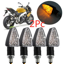 2PCS Motorcycle Motorbike 15 LED Turn Signal Indicators Amber Turning Light 12V