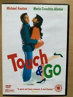 Touch And Go DVD 1986 Ice Hockey Sports Film Comedy with Michael Keaton