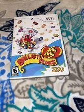 Jelly Belly Ballistic Beans (Nintendo Wii, 2009) LN CIB