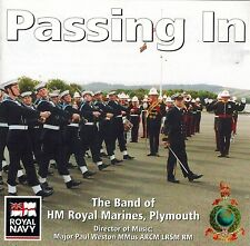 The Band Of HM Royal Marines Plymouth - Passing In (CD)