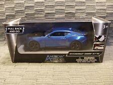 American Legends Diecast Blue 2018 Chevrolet Camaro ZL1 1LE 1:43 Scale