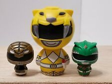 "LOT OF 3 FUNKO POP PINT SIZE MIGHTY MORPHIN POWER RANGERS VINYL FIGURES 1.5"" 3.5"