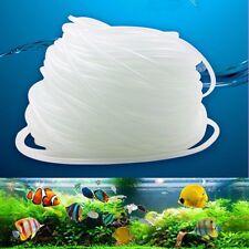 Clear 4/6mm Air Line Aquarium/Fish Tank/Pond Air Pump PVC Hose Pipe Tu ~
