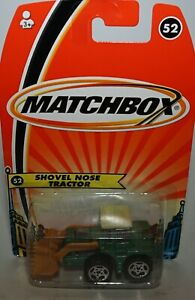 Matchbox Superfast H5847 No 52 Pala Nariz Tractor - Todavía Precintado