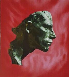 ARNO BREKER Originallithografie handsigniert Nr. 14/75 Romanichel, Bronze, Kopf