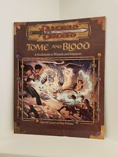 Tome and Blood, Softcover, Dungeons & Dragons 3.0/3.5 (D&D), RPG