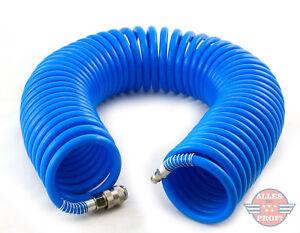 Spiralschlauch Druckluftschlauch Luftschlauch 8x12mm Schlauch 15m 7bar (8x12x15)