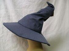Grey Gandalf Hat Hobbit Lord of Rings Wizard Warlock Peasant Medieval Sorcerer