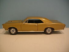 1:18 Scale Gold 1966 Pontiac GTO 2 Door Hard Top Die-cast By The Ertl Co.