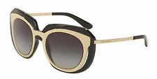 NEW Dolce & Gabbana DG 6104 Sunglasses in Black (color: 501/8G)