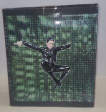"Matrix Trinity Statue Flying Kick Cold Cast 14"" Statue N2Toys"