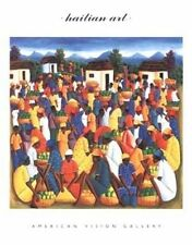 AFRICAN AMERICAN ART PRINT Haitian Art Pierre