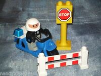 Lego Duplo Polizei Polizist Motorrad Motorbike  2673 Motorcycle Patrol für 10809