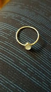PuraVida Sterling Silver  Rainbow Moonstone Ring