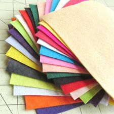 "21 - 6""X6""  Summer Colors Collection - Merino Wool blend Felt Sheets"