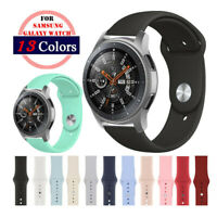 Silicone Sport Bracelet Watch Band Strap For Samsung Galaxy Watch 46mm 42mm