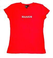 Mango Red Cotton Tshirt