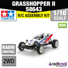 ! nuevo! 58643 TAMIYA GRASSHOPPER 2017 Re-Release 1/10th II Escala Kit De Control De Radio