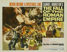 THE FALL OF THE ROMAN EMPIRE Movie POSTER 22x28 Half Sheet C Sophia Loren Alec