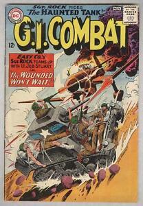 G.I. Combat #108 November 1964 VG- Sgt Rock crossover