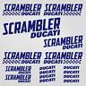 Ducati Scrambler adesivo sticker 16 x moto carro armato casco sport da corsa