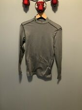 Under Armour Compression Cold Gear Long Sleeve Top Size M Gray