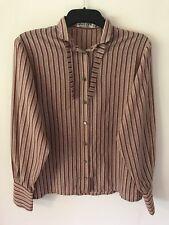 Jaeger Ladies Shirt Long Sleeves Size S