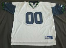 Vintage Reebok  00 Seattle Seahawks Away White Jersey Men s size 3XL xxxl c0e018cfe