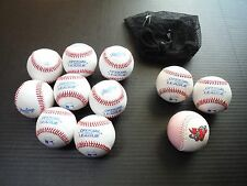 Lot 8 New + 2 Used Rawlings Official Crolb League Baseballs 5 Oz 9 In Leather