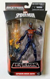 MARVEL LEGENDS SPIDER-MAN 2099 SPIDER-MAN INFINITE SERIES W/ HOBGOBLIN BAF MISB!