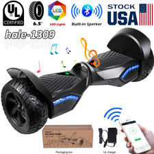 """8.5"""" Bluetooth Hoverboard Led Electric Self Balancing Scooter No Bag Skateboard"""