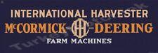 IH MCCORMICK DEERING FARM MACHINES  6