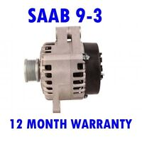 SAAB 9-3 1.9 SALOON 2004 2005 2006 2007 2008 - 2015 REMANUFACTURED ALTERNATOR