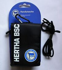 Handytasche Hertha BSC Berlin m Kleingeldfach zB f Samsung Galaxy S3 mini S4mini